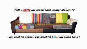 Kleuren bank patchwork