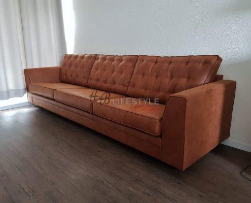 cognac kleur bank 3 meter