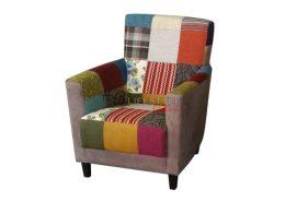 Patchwork fauteuil