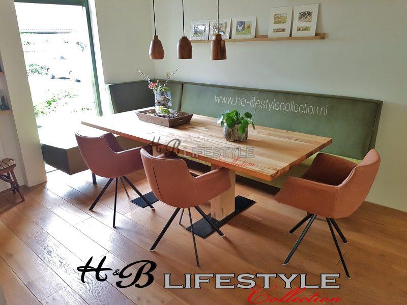 Eetbank op maat hb lifestyle collection for Eettafel op maat laten maken