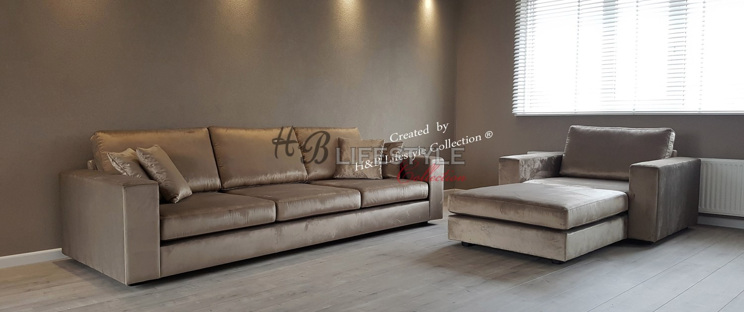 Luxe Lounge Bankstellen.Eric Kuster Stijl Bank Hb Lifestyle Collection