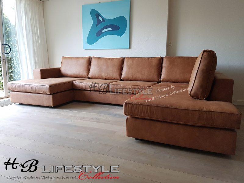 U Bank Kopen.U Bank Kopen Longchair Bank Op Maat Model Milano Kleur Cognac Grove