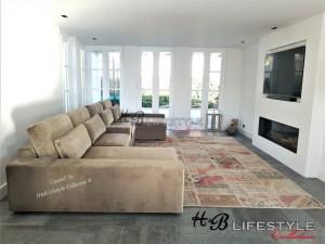 Luxe bankstellen u vorm lounge