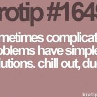 Soluciones simples a problemas complejos