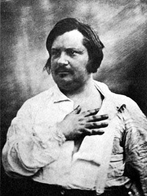 Honoré de Balzac in daguerrotype