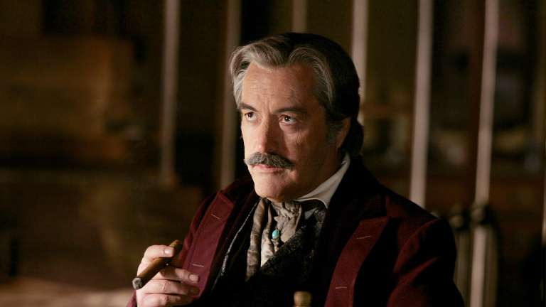 Cy Tolliver Played By Powers Boothe On Deadwood Hbo