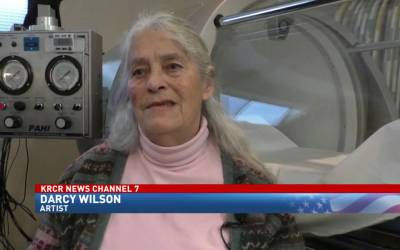 Legally blind Northstate woman regains her vision through oxygen therapy