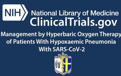 New Clinical Trial: Management by Hyperbaric Oxygen Therapy of Patients With Hypoxaemic Pneumonia With SARS-CoV-2 (COVID-19) (OHB10cov)