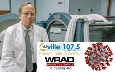 Interview with Dr. Harch on COVID-19 on WCHV's Joe Thomas in-the-morning