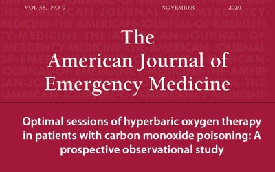 Optimal sessions of hyperbaric oxygen therapy in patients with carbon monoxide poisoning: A prospective observational study