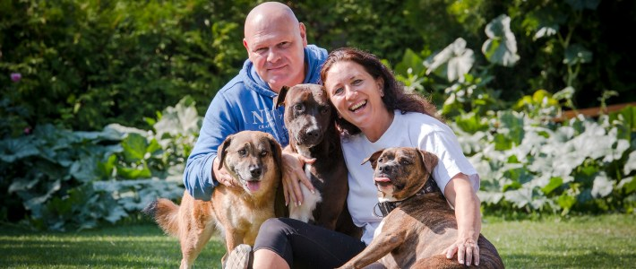 "Fotoshooting bei der Hundeschule ""Hundetreff Marchfeld"""
