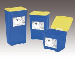 Afval in de zorg - vaten voor specifiek ziekenhuisafval