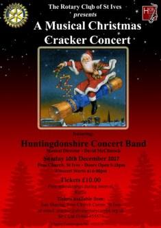 Rotary Christmas Cracker Poster 2017