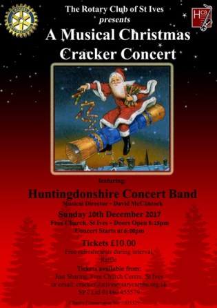 Rotary Christmas Cracker Poster 2017