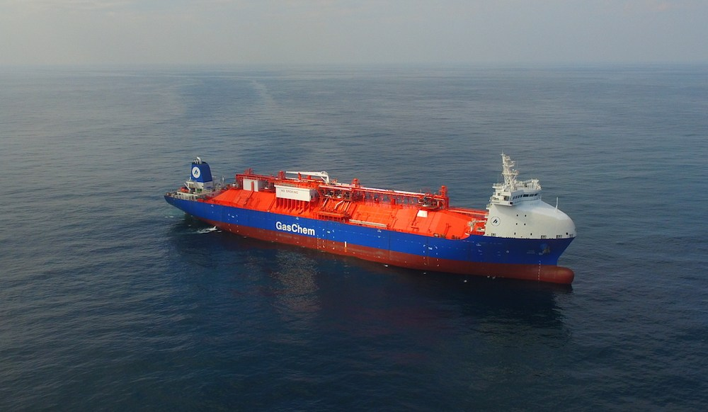 Ethane: Beluga carrier