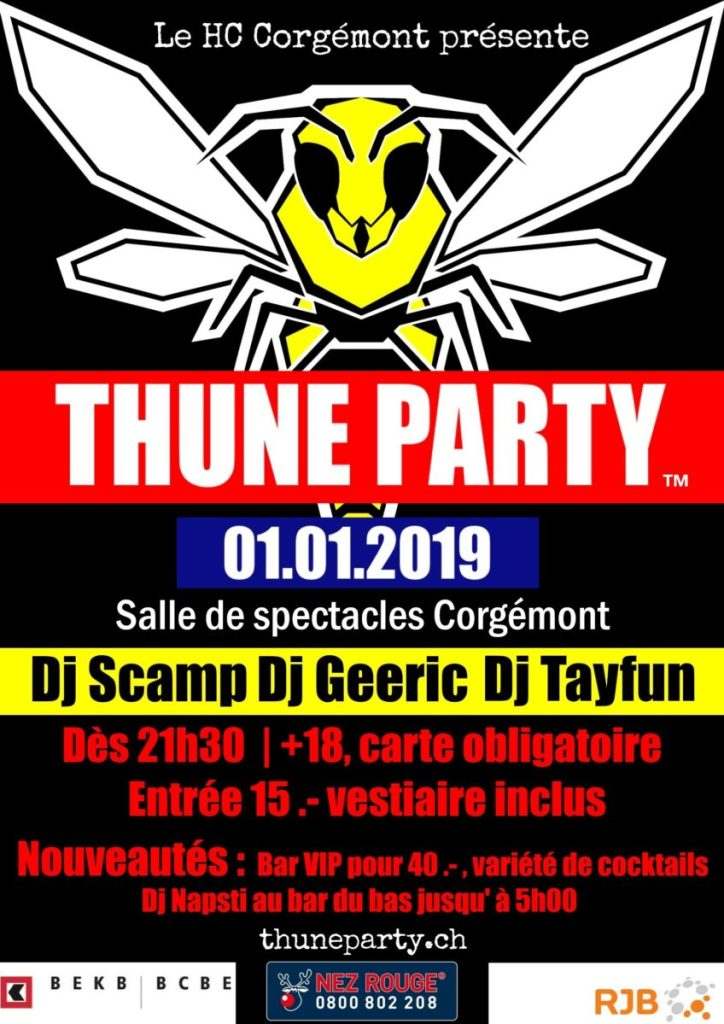 Thune Party - 2019