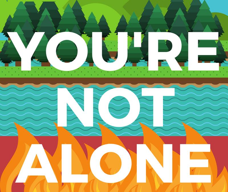 Usted no está solo