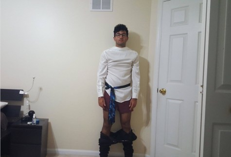 Dress up like me, boys