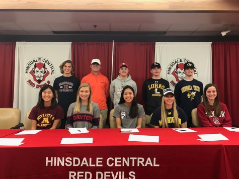 Seniors commit during fall season