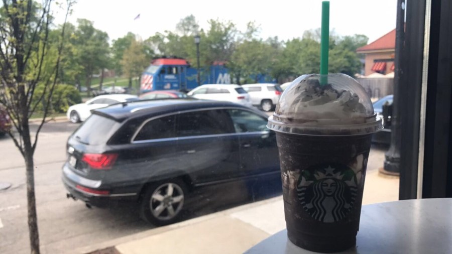 Starbucks+hosted+%22Frappy+Hour%22+from+3%3A00-6%3A00pm+every+day+May+5-14%2C+where+frappuccinos+were+sold+for+half+off+the+regular+price.+