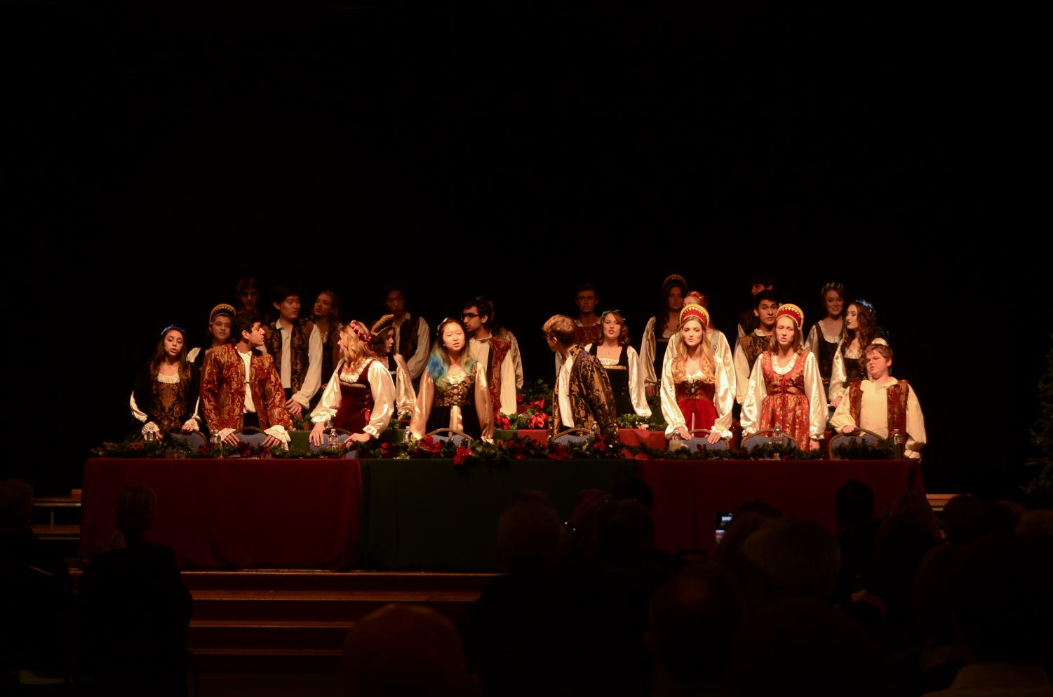 On Monday, Dec. 4, the Madrigals performed their annual winter concert at the Community House.