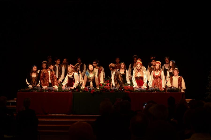 On+Monday%2C+Dec.+4%2C+the+Madrigals+performed+their+annual+winter+concert+at+the+Community+House.+