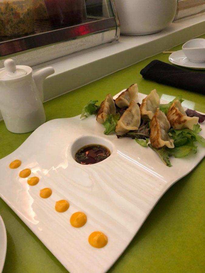 The+dumplings+from+Nabuki%27s+appetizer+selection+were+divine.