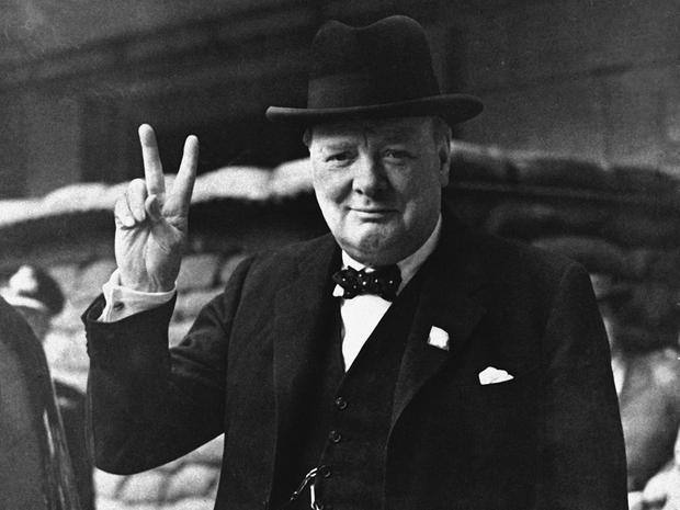 Winston+Churchill+and+his+%E2%80%9CV%E2%80%9D+for+%E2%80%9CVictory.%E2%80%9D