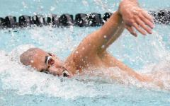 Boys swim and dive team places third in state