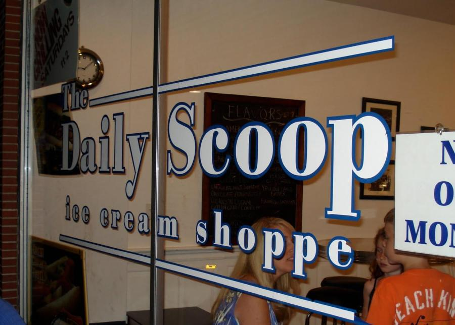 The+Daily+Scoop+is+a+family+friendly+ice+cream+establishment+located+in+Clarendon+Hills+and+recently+opened+for+the+spring+season.+
