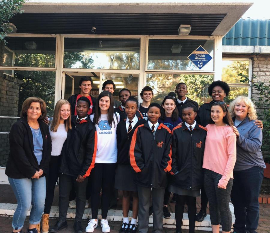 LEAP club travels to South Africa
