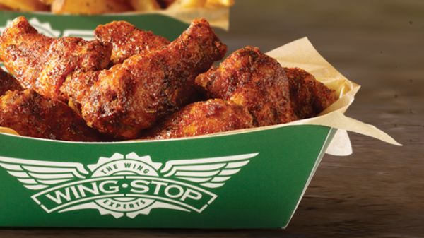 For comparison, 10 boneless wings at Wing Stop is $6 while six wings cost $6 in the cafeteria.