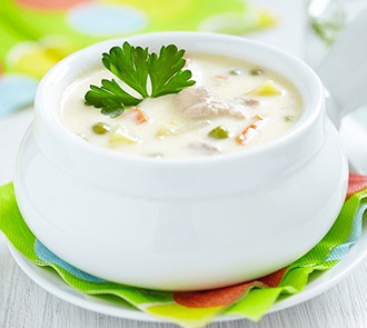HCG cream of chicken soup