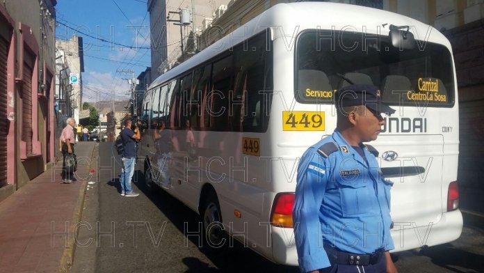 ¡ Asesinan a chofer de rapidito en la capital hondureña !