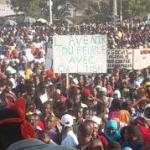 manifestation à Djibouti