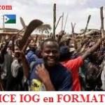 la milice IOG en formation