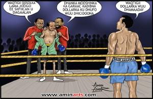 Motion de déviance du 5-5-2014 - contre président de la somalie