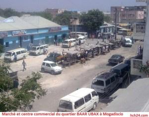 Marché et centre commercial du quartier BAAR UBAX à Mogadiscio-01