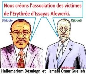 Hailemariam Desalegn - Ismael Omar Guelleh