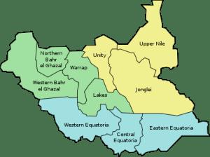 states du soudan du sud