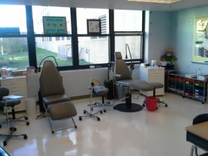 photo of the Gator Grins treatment room