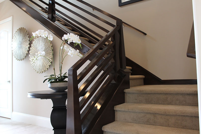 Contemporary Railings Hci Railing Systems   Modern Banisters And Handrails   Oak   Minimalist Simple Stair   Modern Style   String   Grey