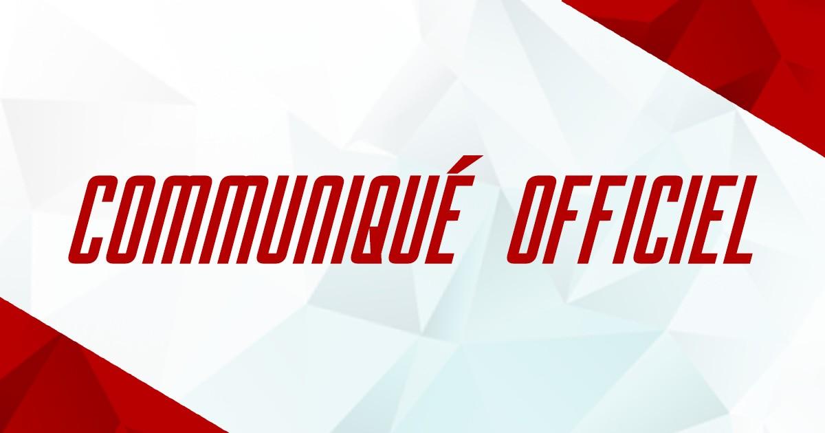 Communiqué match Mont-Blanc – Montpellier