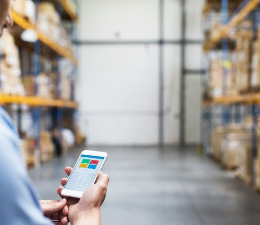 Warehouse Smartphone