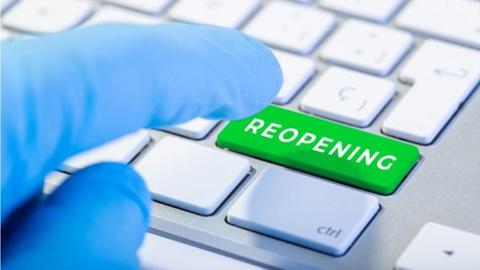 Reopening Key