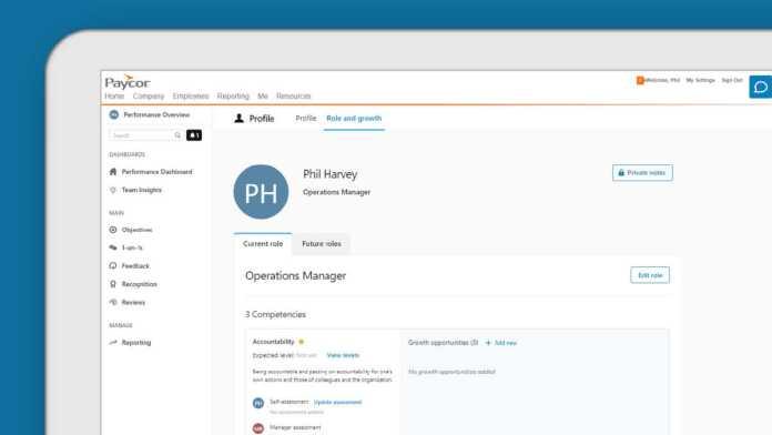 Paycor Career Management