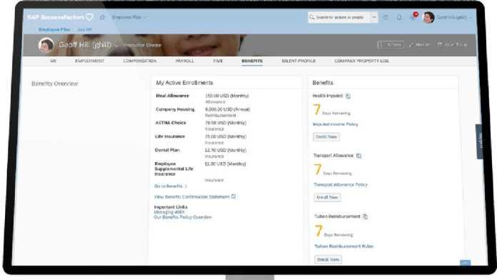 SAP Employee Central