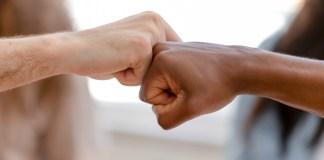 Diversity Fist Bump