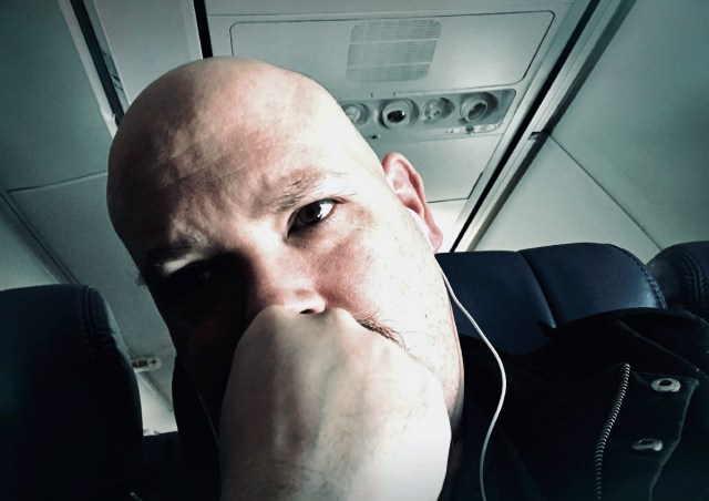 anxiety attack on an airplane