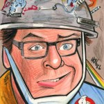 Louis Tully Ghostbusters Art